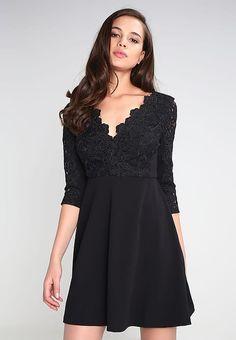 Vêtements River Island WHITNEY - Robe de soirée - black noir: 75,00 € chez Zalando (au 13/12/16). Livraison et retours gratuits et service client gratuit au 0800 915 207.