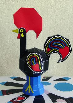 Barcelo's Zoo  Rooster  Crisis and the Portuguese by SalutePerArt