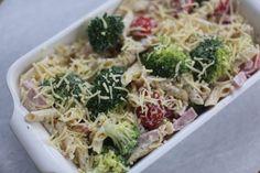 Pasta ovenschotel met broccoli en ham - Taste our Joy!