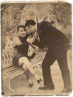 Foto actual con unos retoques vintage