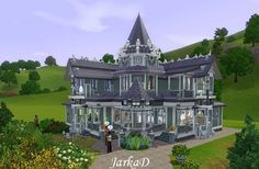 Victorian house 15 at JarkaD Sims3 Blog - Sims 3 Finds