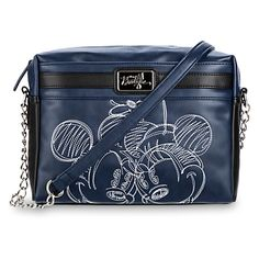 [In stitches]It's the season of the stitch with Mickey and Minnie on this fashionable faux leather purse from the Disney Boutique Collection with…