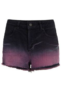 MOTO Dip Dye Highwaist Hotpants