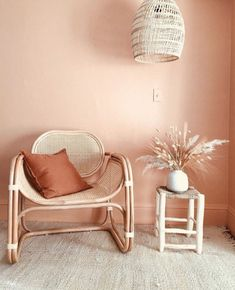 Stylish rattan furniture design should decorate your home 34 - Moroccan Decor Living Room, Living Room Decor, Bedroom Decor, Dining Room, Room Kitchen, Design Bedroom, Dining Chairs, Wall Decor, Rattan Furniture
