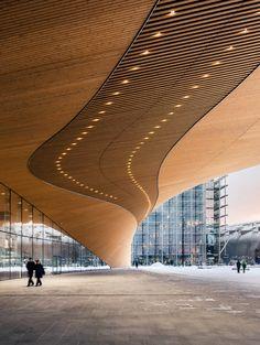 Central Library, Moonstones, Alvar Aalto, Music Activities, Built Environment, Helsinki, Finland, Countries, Facade