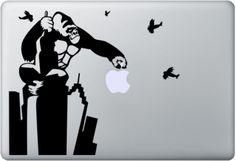 King Kong Macbook Stickers!