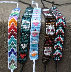 more beaded bracelets, thinner