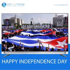 Wishing Everyone in #Cuba, A Very Happy #IndependenceDay.