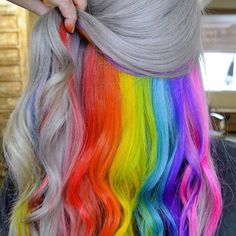 Huurr do's & such dyed hair, hair makeup и cool hair color. Ombre Rose Gold, Pastel Ombre, Dyed Hair Pastel, Blonde Dye, Red To Blonde, Brunette Ombre, Brunette Hair, Kool Aid, Dip Dyed Hair
