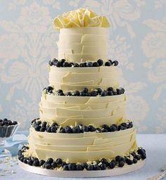 white chocolate and fruit cake