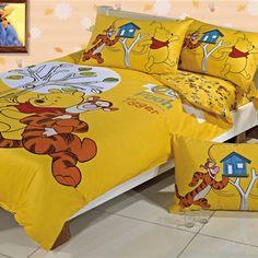 Winnie the Pooh Bedroom | new yellow winnie the pooh bedding full model winnie pooh bedding 09 ...
