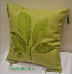 Lovely New style design Olive,Black,Beige Leaves cushion covers 40x40 pillowcase in Home, Furniture & DIY, Home Decor, Cushions | eBay