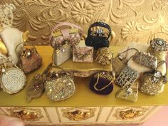 Inspiration!!! cute little purses for the opera | Source: Heirlooms by Susan