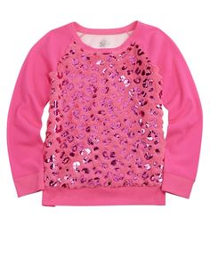 Foil Icon Lightweight Sweatshirt | Girls {category} {parent_category} | Shop Justice