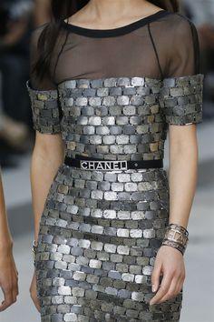 Chanel 2015 İlkbahar/Yaz Detay