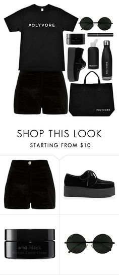 """#ContestOnTheGo #ContestEntry"" by noonemore ❤ liked on Polyvore featuring River Island, bkr, arbÅ«, Chanel, contestentry and ContestOnTheGo"