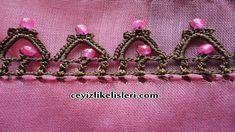 Pembe Boncuk Tığ Oyası Örneği : Pink Bead Crochet Lace Easy Crochet Videos, Crochet Lace, Diy, Elsa, Beads, Youtube, Handmade, Jewelry, Crochet Stitches