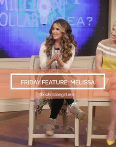 Today on TCG we are excited to feature Melissa, founder of @graceandlaceco a Shark Tank Success story. Melissa shares about her struggle with pregnancy, starting what is now a $10 million online retail store in the midst of tragedy, and coming out strong through faith in Christ. Whether you are an entrepreneur, mom, wife, or young woman in Christ, Melissa is sharing some valuable wisdom in today's interview. Head to the site to read it www.thechristiangirl.net