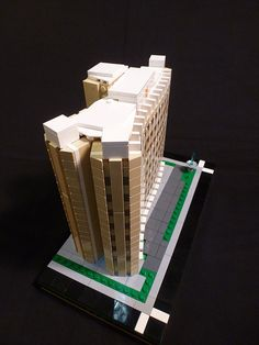 Saskpower Building   ArchBrick   LEGO Architecture Blog