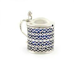 A George III silver mustard pot by Aldridge and Green, London 1771 Wallis, Georgian, Utensils, Mustard, Pots, Spices, Beer, London, Tableware