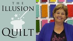 Illusion Block Quilt - Easy Quilting Tutorial from Jenny Doan & Missouri...