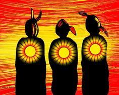 Native Symbols, Native American Symbols, Native Art, Polymer Clay Painting, Native American Paintings, Art Tribal, Dance Paintings, Southwestern Art, American Indian Art