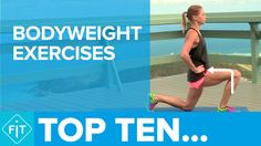Top 10 Bodyweight Exercises – How To Get Strong Without Going To The Gym!