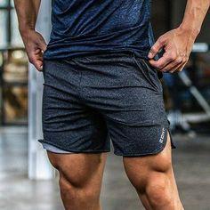 f97e0216754e8 16 Best Mens Gym Shorts images | Sport shorts, Male fitness, Man fashion