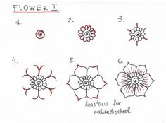Easy Things To Draw Step By Step Flowers 1000+ Ideas About Easy Flower Drawings On Pinterest | Flower