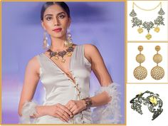 Explore our stunning jewelry collection showcased at India International Style Week !! -- Designs by Mr. Anshu Raja Jain Order Online at Virginjewel.com