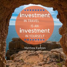 Make the #investment in #you, #travel www.travelersdreamtours.com, 888-896-2764