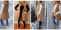 DIY Hooded Vest – Excessively Sew Hooded Vest, Fleece Vest, Diy Dusters, Vest Pattern, Clothes Crafts, Couture, African Fashion, Hoods, Clothes For Women