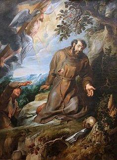 Peter Paul Rubens - Franciscus van Assisi ontvangt de stigmata.JPG