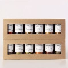 Organic Spice Set, $52, now featured on Fab.