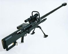 Denel-Mechem NTW 20mm Rifle.  For those long-distance calls.