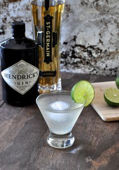 St. Germain elderflower liqueur gives the classic gin & tonic a bright, refreshing makeover.