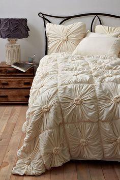 Dreamy bedding #anthropologie