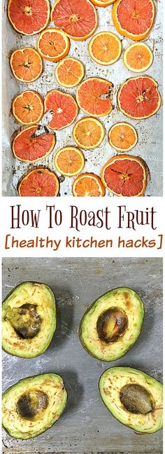 It's so easy to roast fruit and bring another level of flavor to healthy yummy recipes like salads, granola, chicken, tacos, desserts and more. Healthy Kitchen Hacks at http://Teaspoonofspice.com