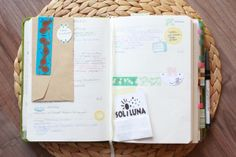 RoterFaden journaling (by creating_impossible_gardens, via Flickr)