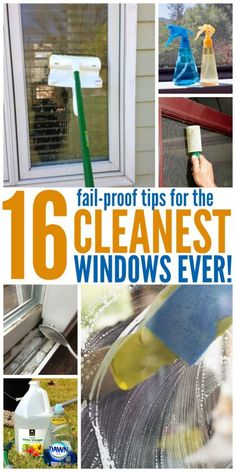 these window cleaning tips, you can get absolutely spotless windows (no, really!) with less effort than you'd think.With these window cleaning tips, you can get absolutely spotless windows (no, really!) with less effort than you'd think. Window Cleaning Tips, Deep Cleaning Tips, Toilet Cleaning, House Cleaning Tips, Natural Cleaning Products, Kitchen Cleaning, Cleaning Window Tracks, Best Window Cleaning Solution, Cleaning Outside Windows