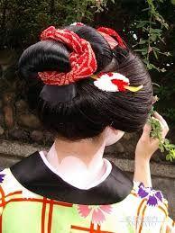 「地毛で日本髪」の画像検索結果