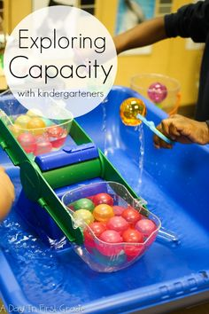 Capacity: the maximum amount something can contain. In order to teach my students this term, I purchased four new sensory tubs from Amazon.com. I must have grabbed them on sale because I told my co…