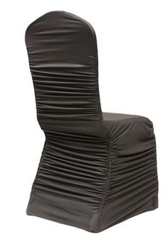 Champagne Ruche Banquet Chair Cover Rental Also Available