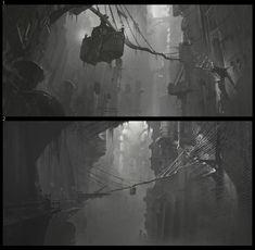 ArtStation - League of Legends Warwick Trailer Chasm Concept, Gabriel Yeganyan