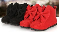 Fashion New Children Boots Girls Bows Leather Boots Kids Short Shoes Children Xmas Boots Red Black Pink A7149 Kids Rain Boots Clearance Cowgirl Boots For Toddlers From Summervivi, $71.79| Dhgate.Com