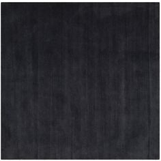 Safavieh Himalaya Collection HIM610C Handmade Black Premium Wool Square Area Rug (4' Square) *** To view further for this item, visit the image link. (This is an affiliate link and I receive a commission for the sales)