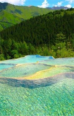 Rock Pools, Canadian Mountains | Top 20 Beautiful Nature & Places In Canada.