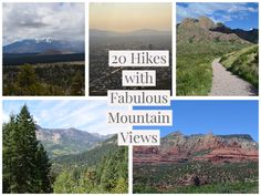 20 amazing mountain hikes, from the ponderosa forests of Northern Arizona, to the tranquil Blue Ridge mountains of the Southeast. Mountain Hiking, Mountain View, Landscape Photos, Landscape Photography, East Tennessee, Nashville Tennessee, North Carolina Mountains, National Parks Usa, Best Cardio