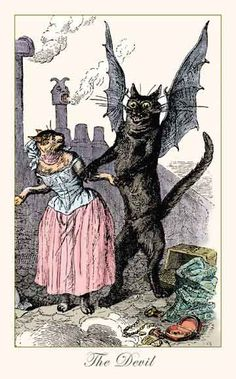 catwings | Catwings Illustration Felizioso on pinterest vintage cat, black cats ...