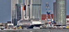 Cruise Port Rotterdam.
